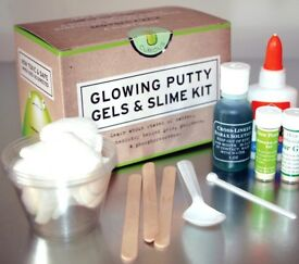 Slime Kit - Make your own Slime - Glow in the dark Slime