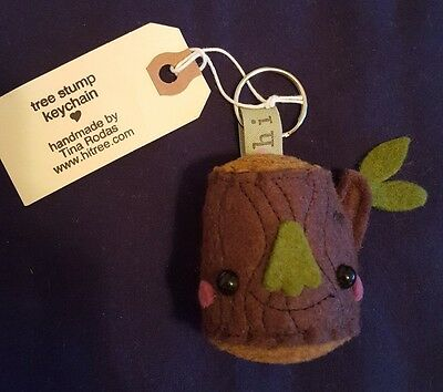 Brand New, cute hi tree! Tree Stump Keychain! Great for collectors or kids!](Keychains For Kids)