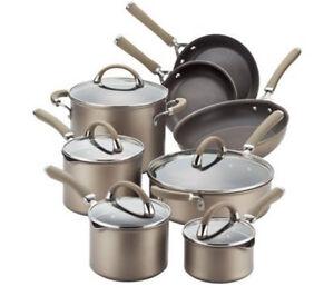 2 sets avail. Circulon hard anodized cook wear saucepan frying pan Caloundra Caloundra Area Preview