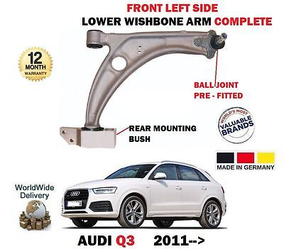 FOR AUDI Q3 1.4 2.0 TFSI TDI 2011-> LEFT FRONT LOWER WISHBONE SUSPENSION ARM