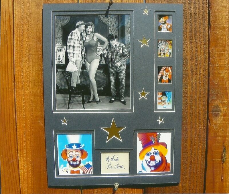 RED SKELTON/MICKEY ROONEY original signed funney one of a kind art work
