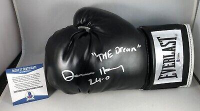 Devin Haney Signed Boxing Glove Champion Next Mayweather Beckett BAS COA