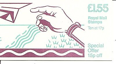 Great Britain, SC # BK652 Social Letter writing. Complete Booklet