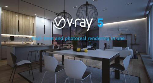 V-Ray Next 5 Rendering Plugin For All / Windows / Full installer