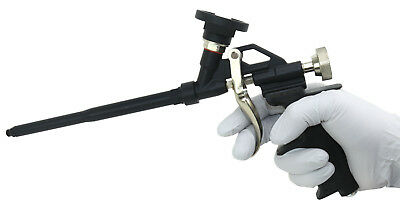 Teflon Coated Spray Foam Gun Foam Applicator Gun With Self Cleaning Needle