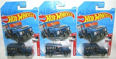 Hot Wheels Treasure Hunt Lot Of 3 2019 HW Armored Truck 182/250 HW Rescue 5/10