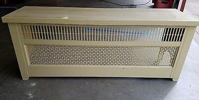 Vintage radiator cover bench (Bench Radiators)