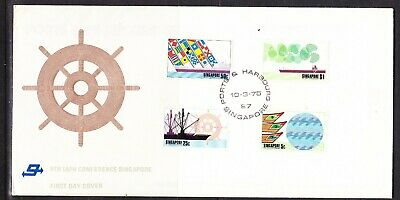 Singapore 1975 I.A.P.H Conference  First Day Cover Unaddressed