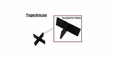 100-200 Stk. Fugenkreuze 3mm x 10mm Terrassenplatten, Bodenplatten,Fliesenkreuze