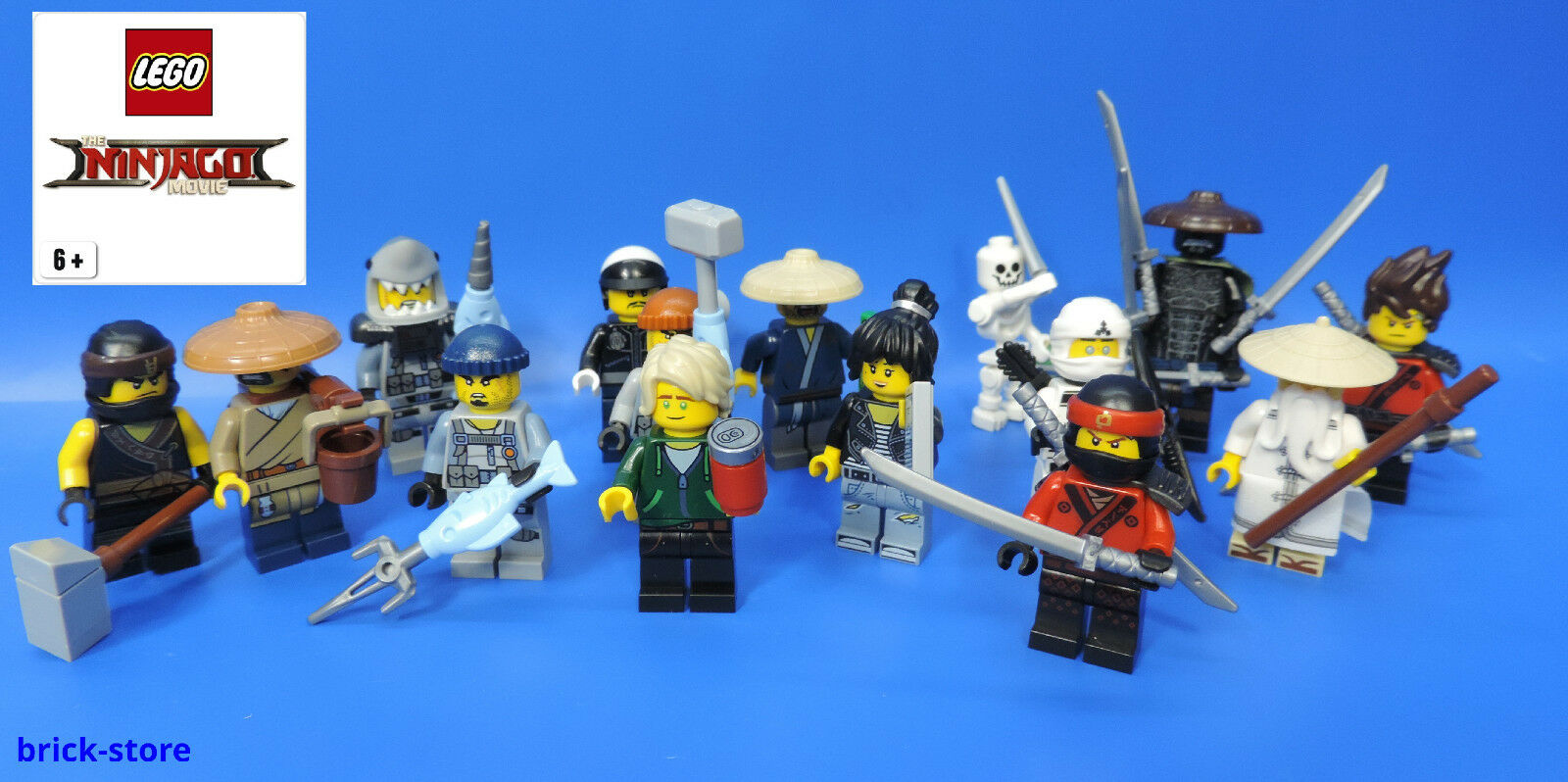 Lego 71019-Ninjago Movie minifigure-Limited Collector series minifigs-misb