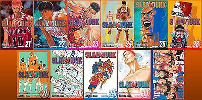 Slam Dunk Series MANGA by Takehiko Inoue Collection Volumes 21-31!