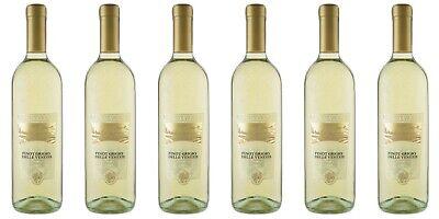 6 Flaschen PINOT GRIGIO, DOC, Venezie, Italien, 0,75 Liter 12% Vol. Weisswein