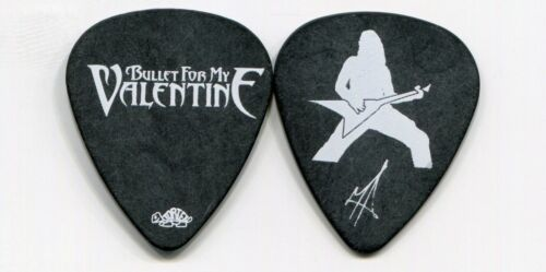 BULLET FOR MY VALENTINE 2010 Tour Guitar Pick!!! MATTHEW TUCK custom stage #1