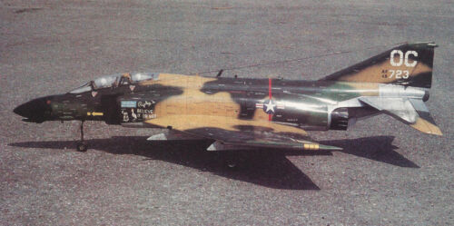 1/10 Scale F-4 Phantom DF/Turbine Plans,Templates, Instructions 44ws