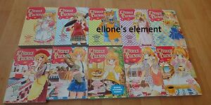 Kitchen Princess 1 2 3 4 5 6 7 8 9 10 manga book lot Natsumi Ando complete set