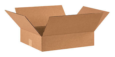 50 18x12x5 Cardboard Shipping Boxes Flat Corrugated Cartons
