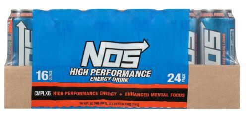 NOS High Performance Energy Drink 16 oz., 24 pk.