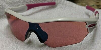 Oakley Radar Brand New Women's White and Pink Frames Pink (Pink And White Oakley Sunglasses)