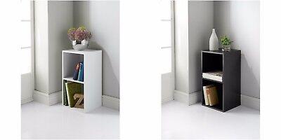 Easy self assembly Lokken 2 Cube Unit stylish storage solution Room Decoration ()