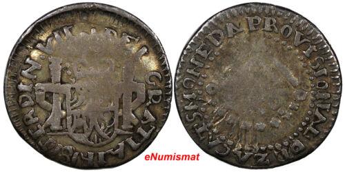 Mexico ZACATECAS Ferdinand VII Silver 1811 LVO Real FULL LEGEND KM# 183