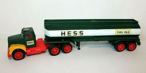 Vintage 1968 HESS Toy Tanker Truck - Decent