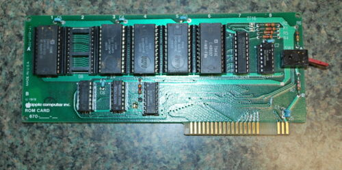 Apple II Integer Basic ROM Card with orig Apple 1 ROMS - ships worldwide!