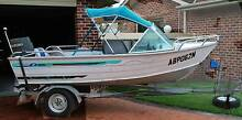 Brooker Fisherman boat, trailer and 25hp motor Tuncurry Great Lakes Area Preview