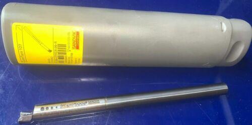 NEW SANDVIK 10MM DIA F10M-STFCR 09-R CARBIDE DAMPED SILENT BORING BAR.
