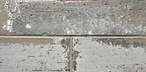 2.5x9.5 London Soft Gray Smoke Glazed Extruded Brick Wall Field Tile