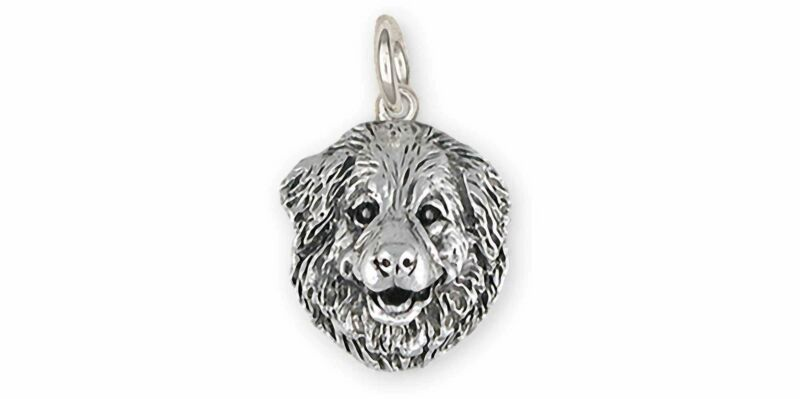 Great Pyrenees Jewelry Sterling Silver Handmade Great Pyrenees Charm  GPR31X-C