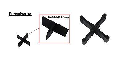 100 Stk. Fugenkreuze 3mm, 4mm, 5mm, Terrassenplatten, Bodenplatten,Fliesenkreuze