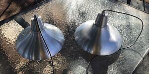 Brushed aluminium hanging lamp shades Munster Cockburn Area Preview