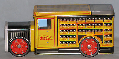 Coca-Cola Delivery Truck Tin Free Shipping