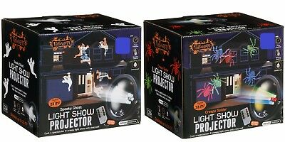 ction Halloween Projector Light Show - Coverage of 23m² (Halloween Light Show Timer)