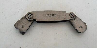 Vintage Starrett 178b Welder Fillet Gauge Insideoutside 32 Blades 1764 - 12