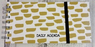 TF Publishing Undated Daily Planner Weekly Monthly Agenda