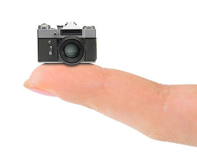 Fitting a mini camera is not too tricky