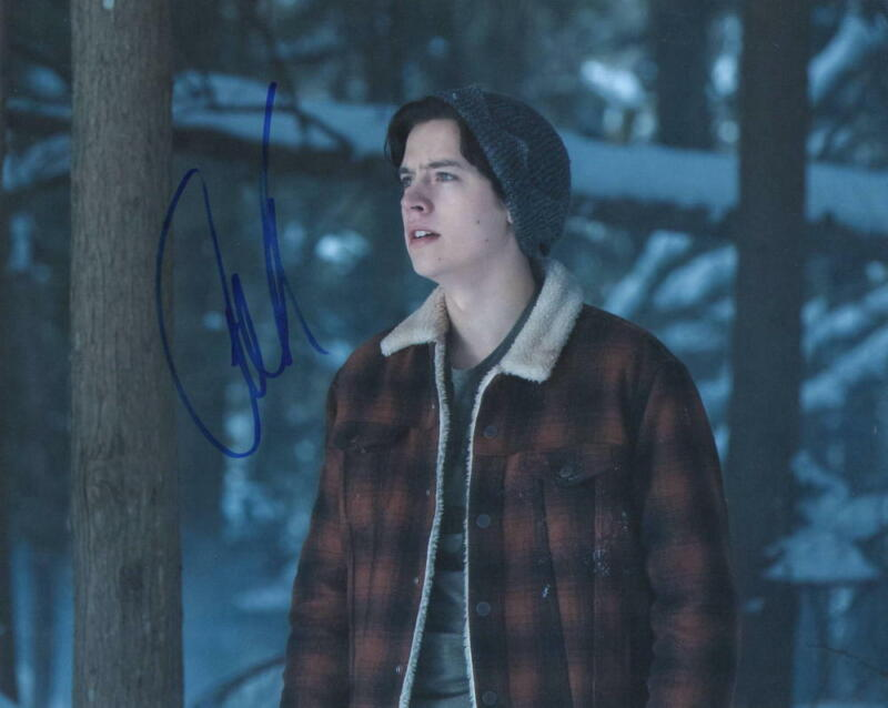COLE SPROUSE SIGNED 8X10 PHOTO CW RIVERDALE JUGHEAD AUTHENTIC AUTOGRAPH COA Q