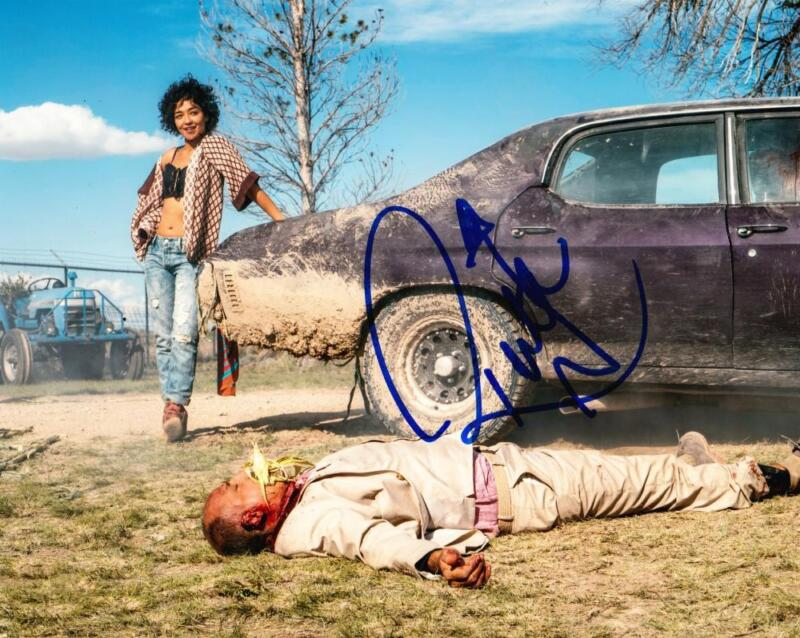 RUTH NEGGA SIGNED 8X10 PHOTO AUTHENTIC AUTOGRAPH AMC PREACHER TULIP COA C