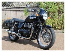 Triumph Bonneville T100 2009 black East Maitland Maitland Area Preview
