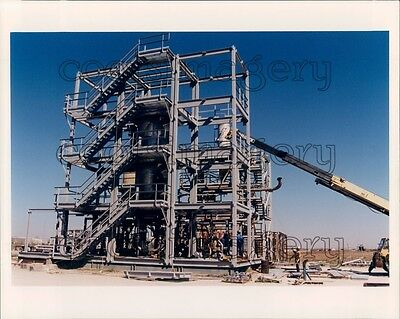 1997 Construction Of Sulferox Unit Dow Chemical Houston Texas Press Photo