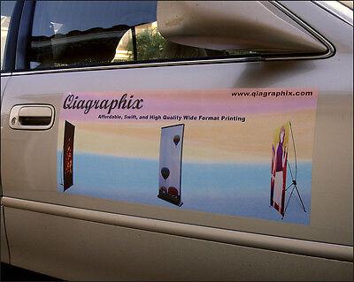 Custom Sign Decal Sticker Self-adhesive Vinyl Printing Auto Vinyl Sign Graphics
