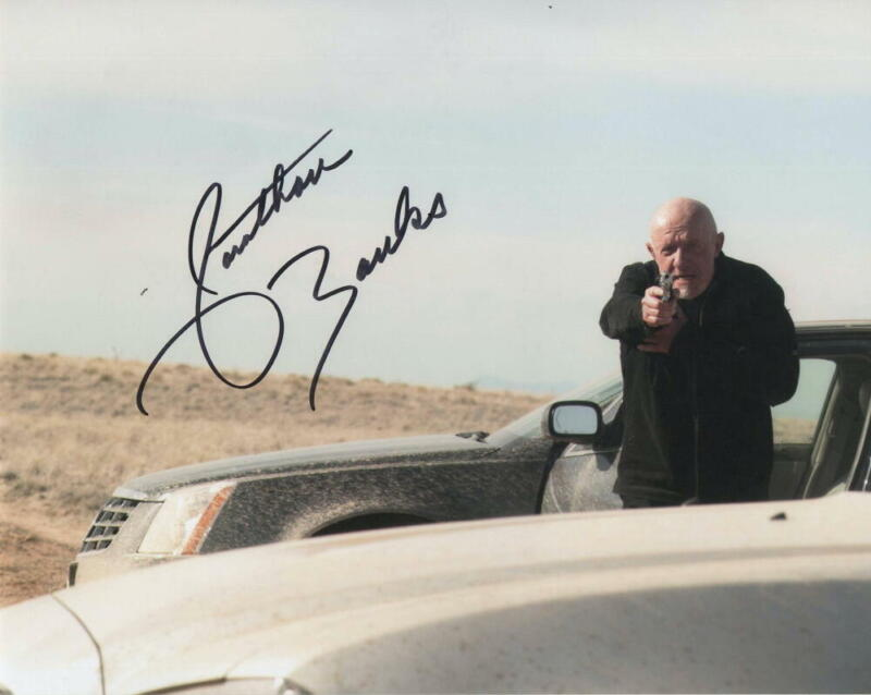 JONATHAN BANKS SIGNED AUTOGRAPH 8X10 PHOTO - BETTER CALL SAUL BREAKING BAD STAR