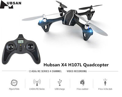 Hubsan X4 H107L 2.4G 4CH Mini RC Quadcopter with LED Lights RTF Toys Drone