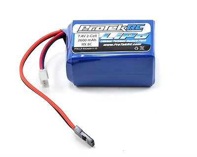 (ProTek RC LiPo Kyosho & Tekno Hump Receiver Battery Pack (7.4V/2600mAh) PTK-5161)