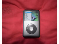 iPod Classic 120Gb black, very good condition, with box and cable