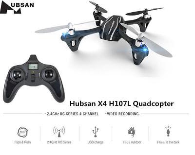 Hubsan X4 H107L 2.4G 4CH 6-Axis Gyro Mini RC Quadcopter with LED Lights RTF Gift