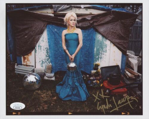 Cyndi Lauper Signed 8x10 photo #2 with JSA COA