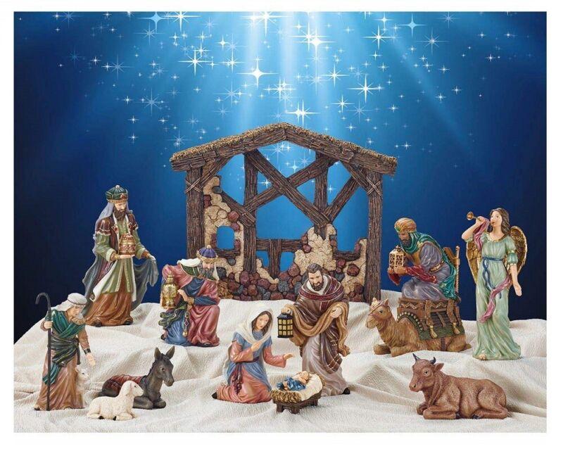 Kirkland Signature 13Piece HandPainted Nativity