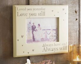 Loved You Yesterday Photo Frame £12